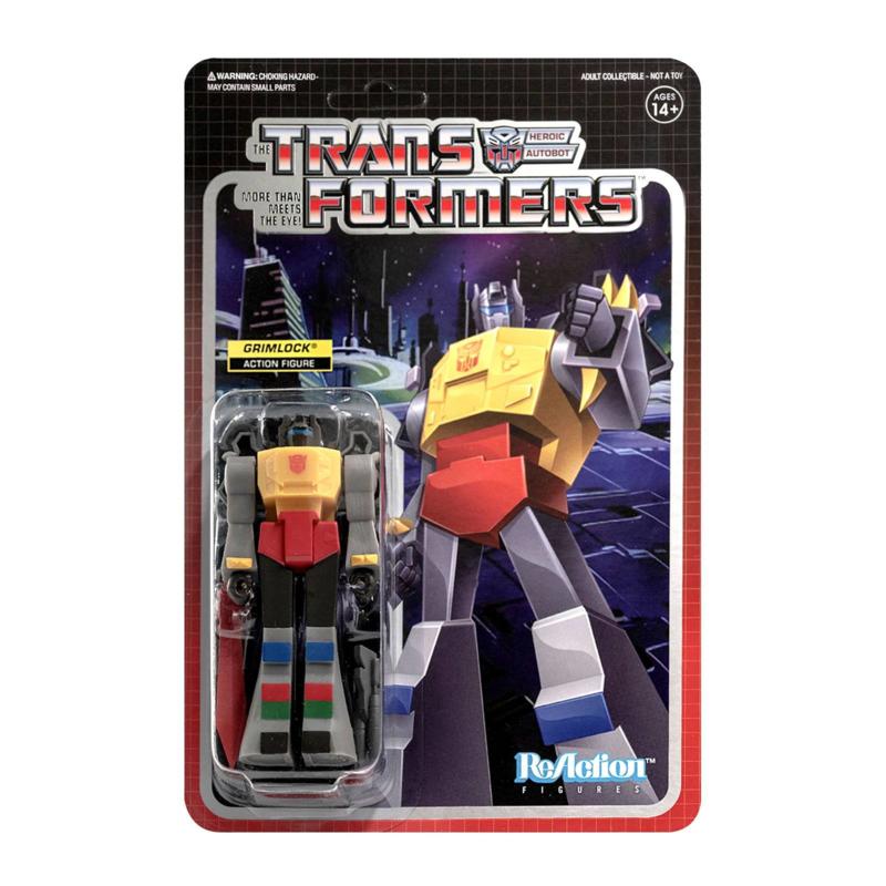 Super7 Transformers ReAction Grimlock - Pre order