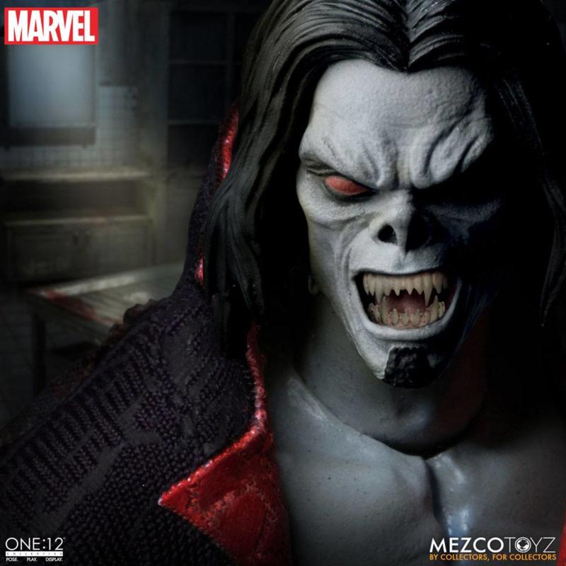Mezco Marvel Universe Light-Up AF 1/12 Morbius - Pre order