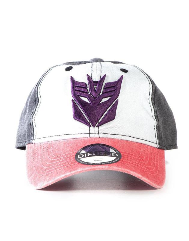 Difuzed Transformers Baseball Cap Decepticons - Pre order