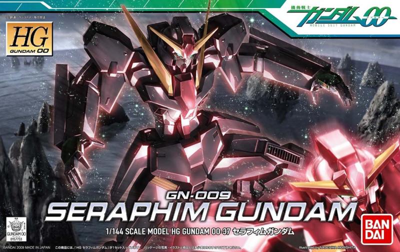 1/144 HG00 GN-009 Seraphim Gundam