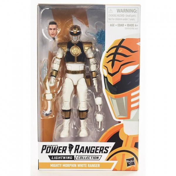 Power Rangers LC AF MM White Ranger