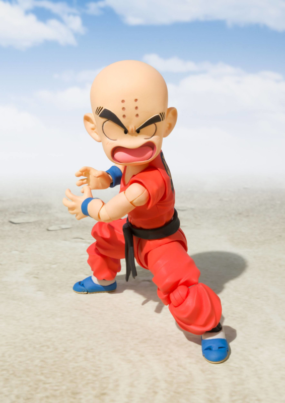 Dragonball S.H. Figuarts Action Figure Krillin [The Early Years]