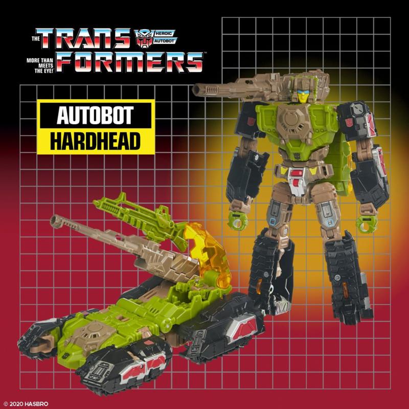 Hasbro Retro Headmasters Deluxe Hardhead - Pre order