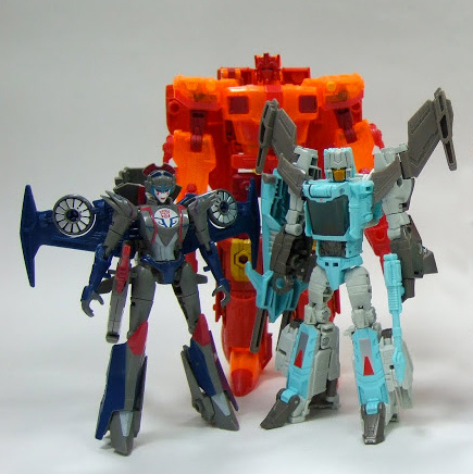 Hasbro SDCC Titan Force Boxset