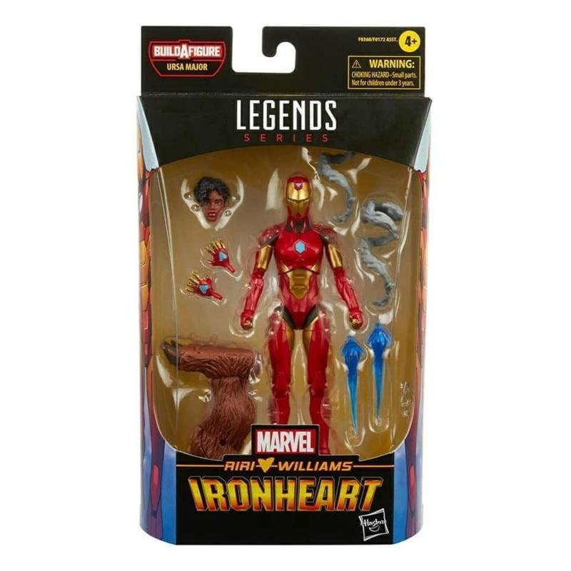 Marvel Legends Comic Series Ironheart [BAF Ursa Major] - Pre order