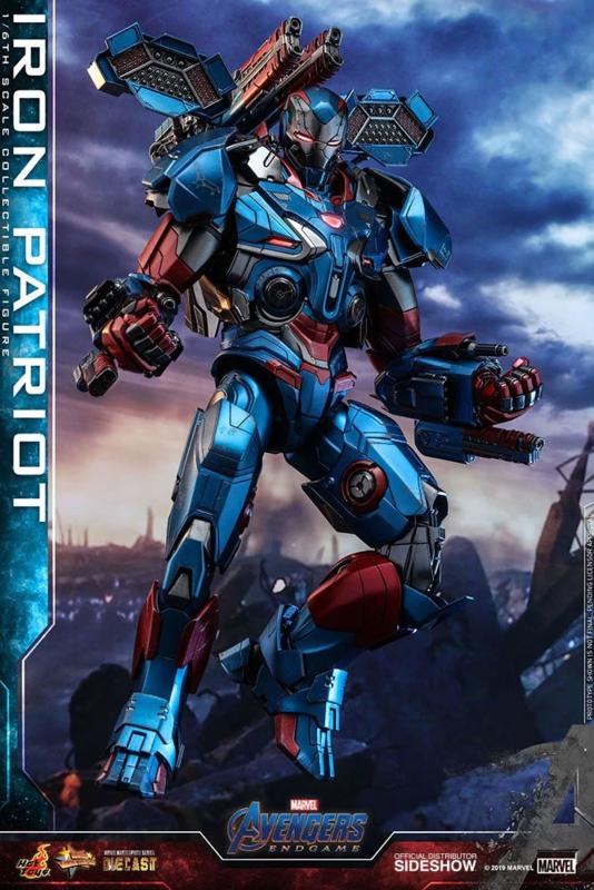 Avengers: Endgame MMS Diecast AF 1/6 Iron Patriot - Pre order