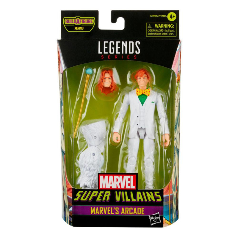 Marvel Legends Super Villians Marvel's Arcade - Pre order