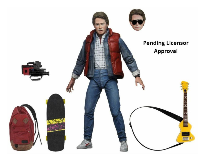 NECA Back to the Future AF Ultimate Marty McFly- Pre order