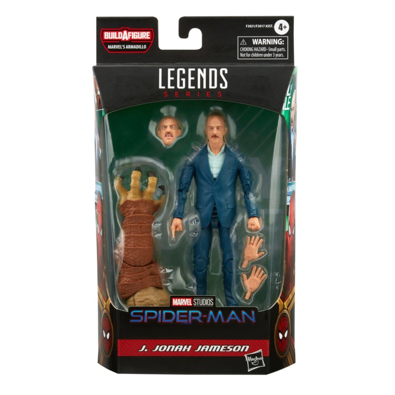 Marvel Legends J. Jonah Jameson [BAF Armadillo] - Pre order
