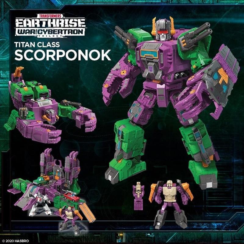 Hasbro WFC Earthrise Titan Scorponok [reissue 2021] - Pre order