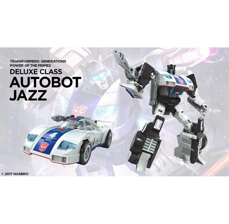 Hasbro PotP Wave 1 Deluxe Jazz