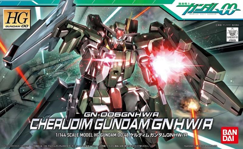 1/144 HG00 GN-006GNHW/R Cherudim Gundam GNHW/R