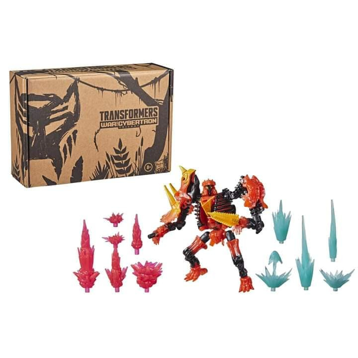 Hasbro WFC-K39 Tricranius Beast Power Fire Blasts Collection pack - Pre order