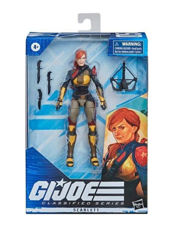 G.I. Joe Classified Series Scarlett [Variant] - Pre order