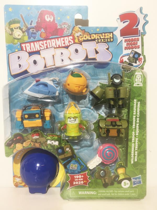 Hasbro BotBots  8-Packs Wilderness Troop  B