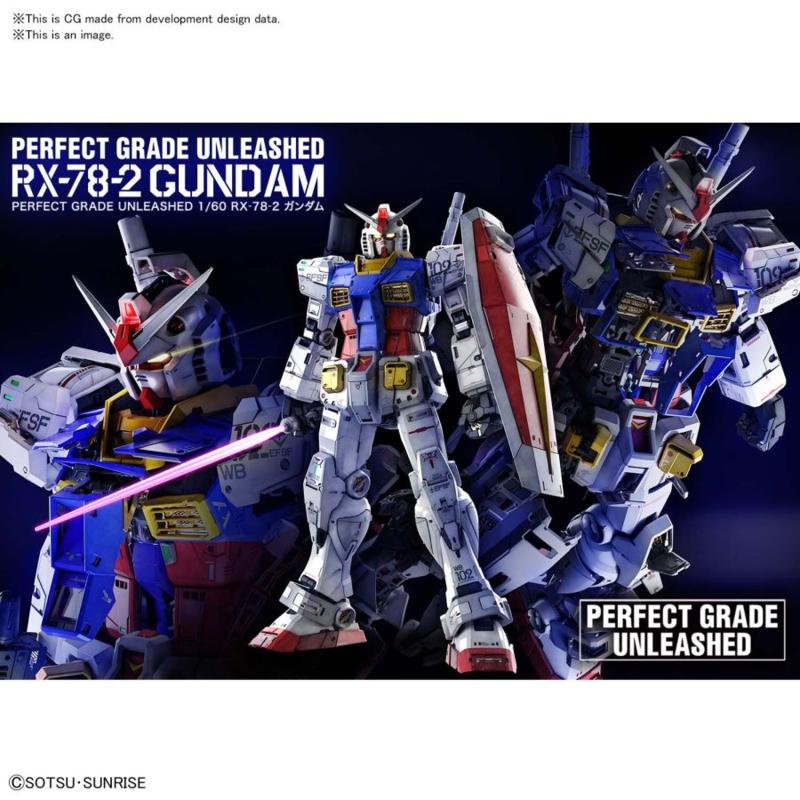 1/60 PG Gundam RX-78-2 Unleashed - Pre order