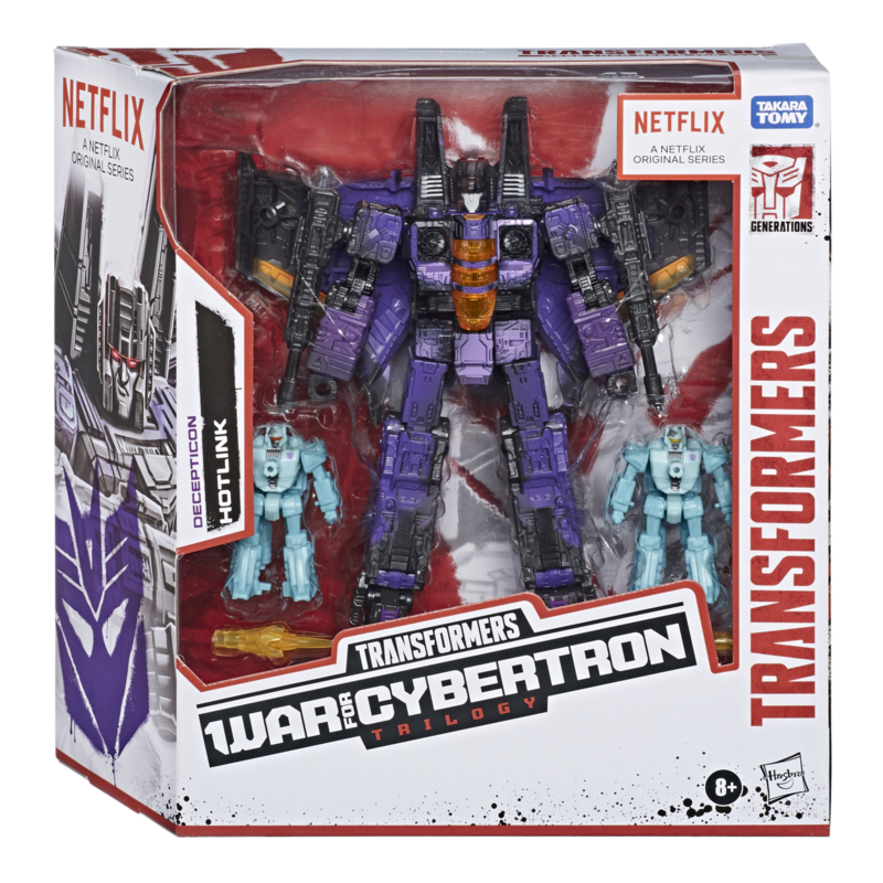 Hasbro Transformers Netflix Series Battlefield Hotlink - Pre order