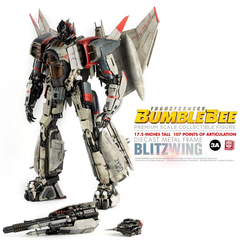 ThreeA Action Figure Blitzwing [Bumblebee Movie] - Pre order