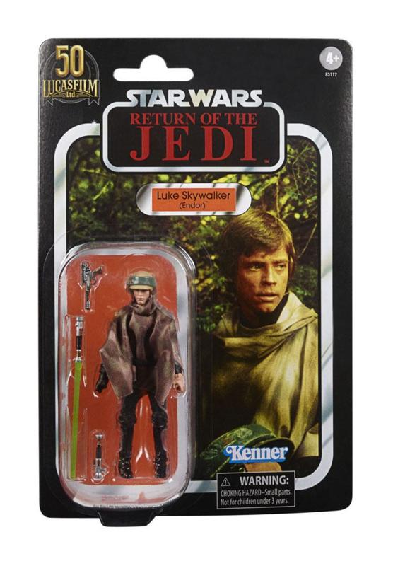 Star Wars Vintage Collection Luke Skywalker [Endor] 50th Ann.