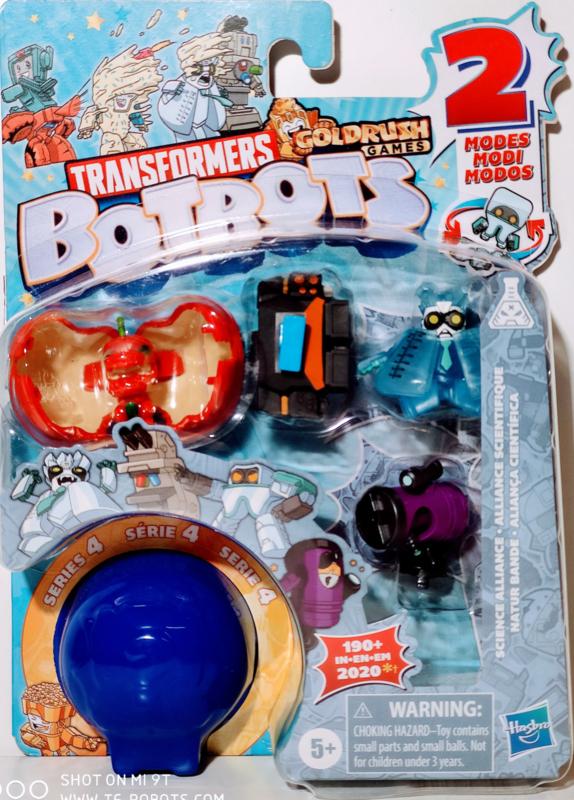Hasbro Botbots Serie 4 Science Alliance Set of 5 [B]