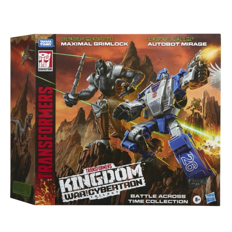 Hasbro WFC Kingdom WFC-K40 Mirage & Grimlock - Pre order