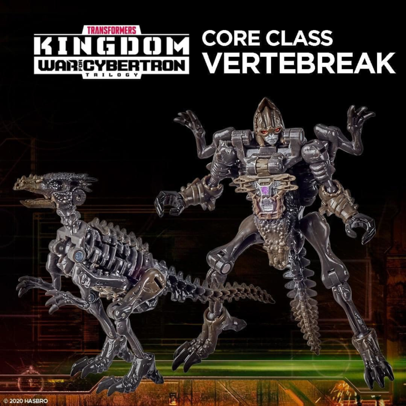 Hasbro WFC Kingdom Core Vertebreak - Pre order
