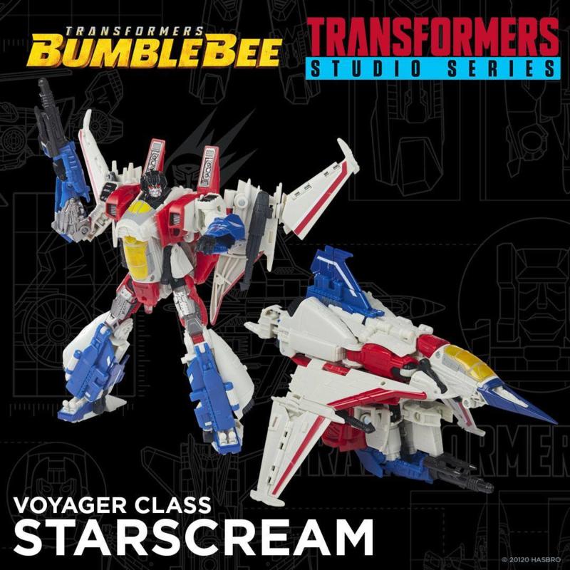 Hasbro Studio Series SS-72 Voyager Starscream - Pre order