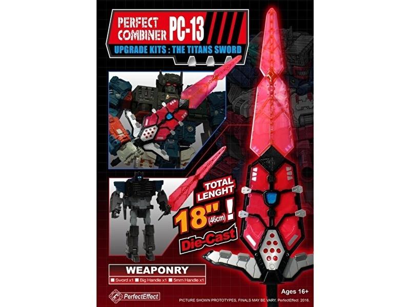 Perfect Effect PC-13 Upgrade set Titan Sword