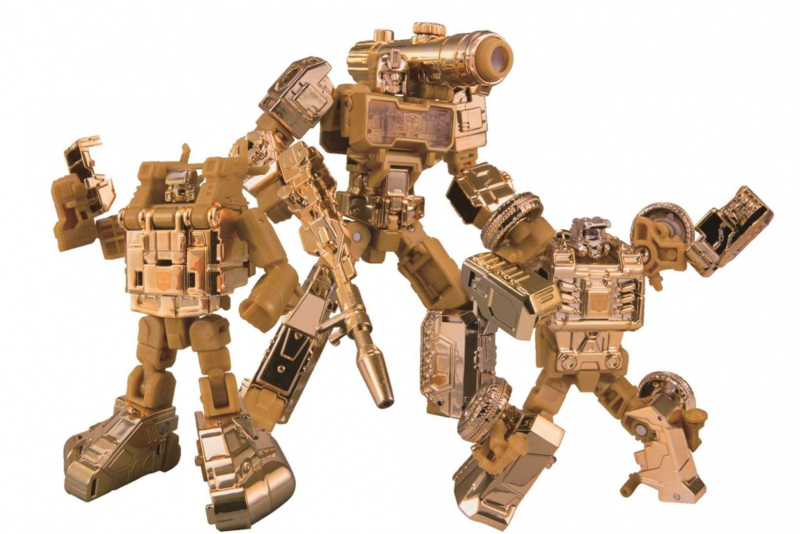 Takara Golden Lagoon Set of 3