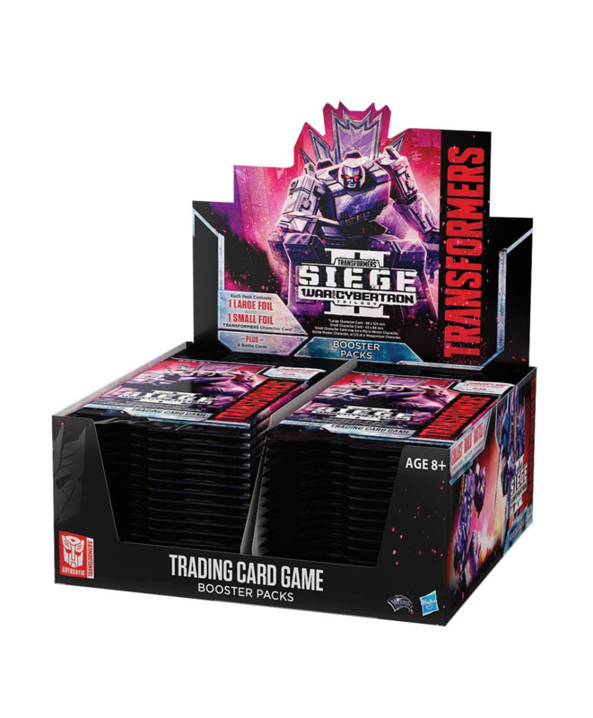 Transformers TCG Booster Box War for Cybertron Siege II [english]