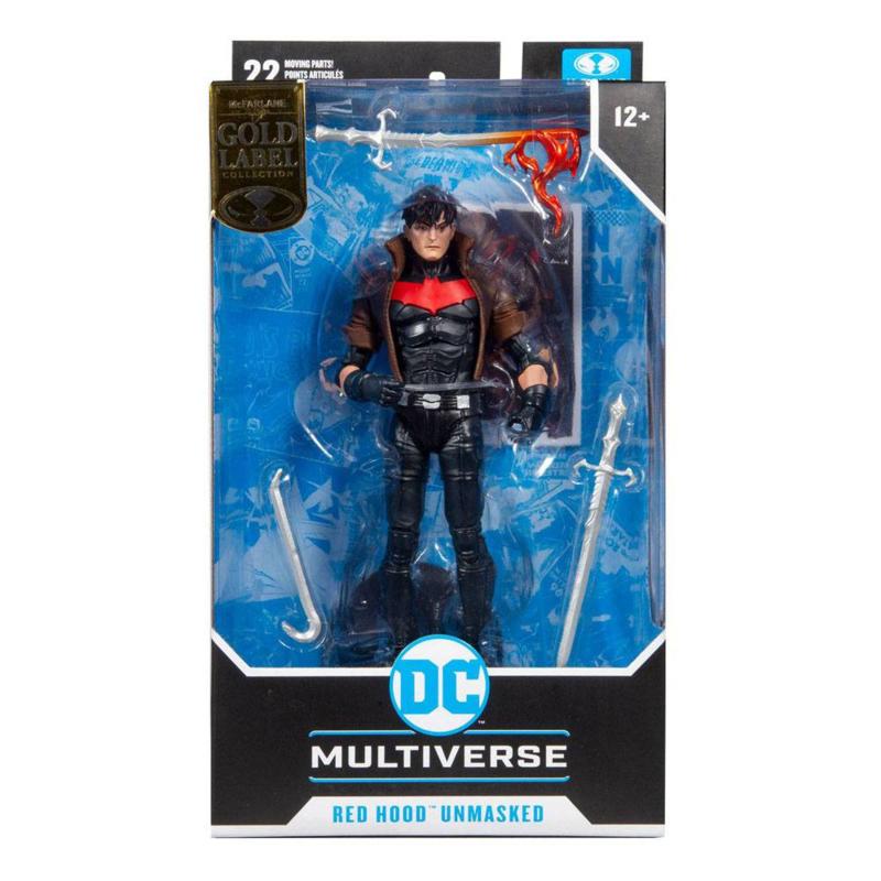McFarlane Toys The New 52 DC Multiverse AF Red Hood Unmasked (Gold Label) - Pre order