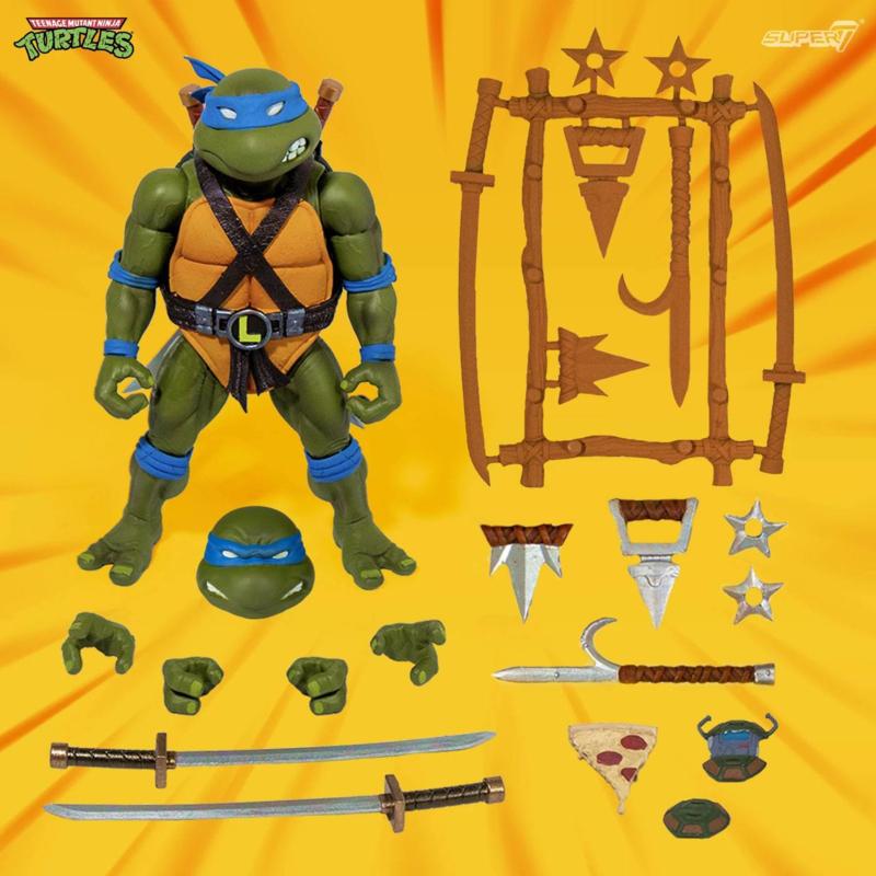 Super7 Teenage Mutant Ninja Turtles Ultimates Leonardo - Pre order