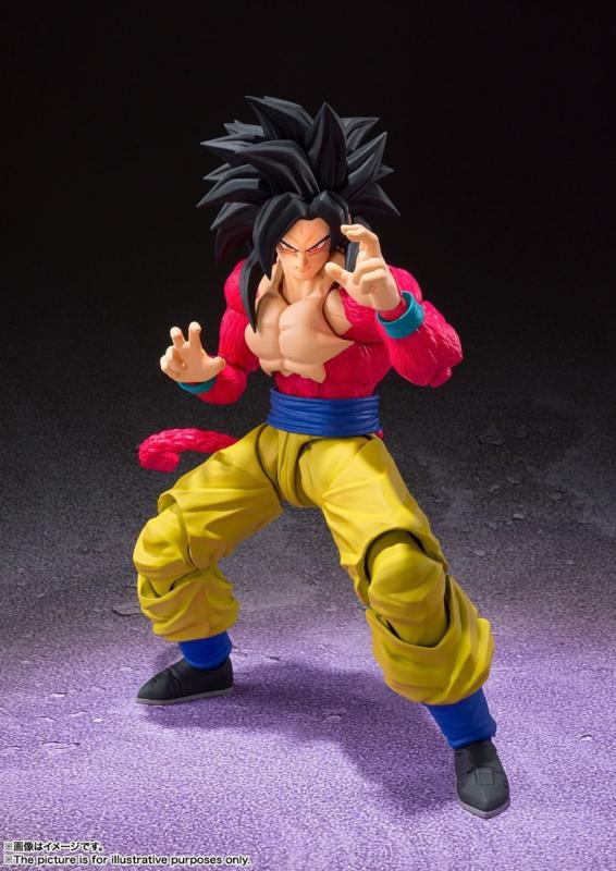 Dragonball GT S.H. Figuarts Super Saiyan 4 Son Goku - Pre order