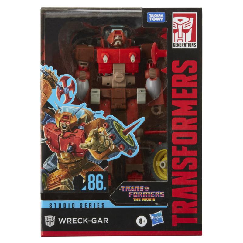 Hasbro Studio Series 86-09 Voyager Wreck-Gar - Pre order