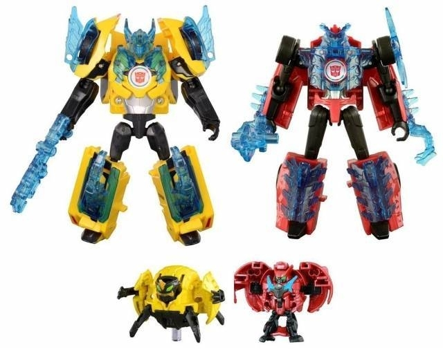 Takara TAV-44 Sideswipe & Bumblebee - Supreme Armor Set