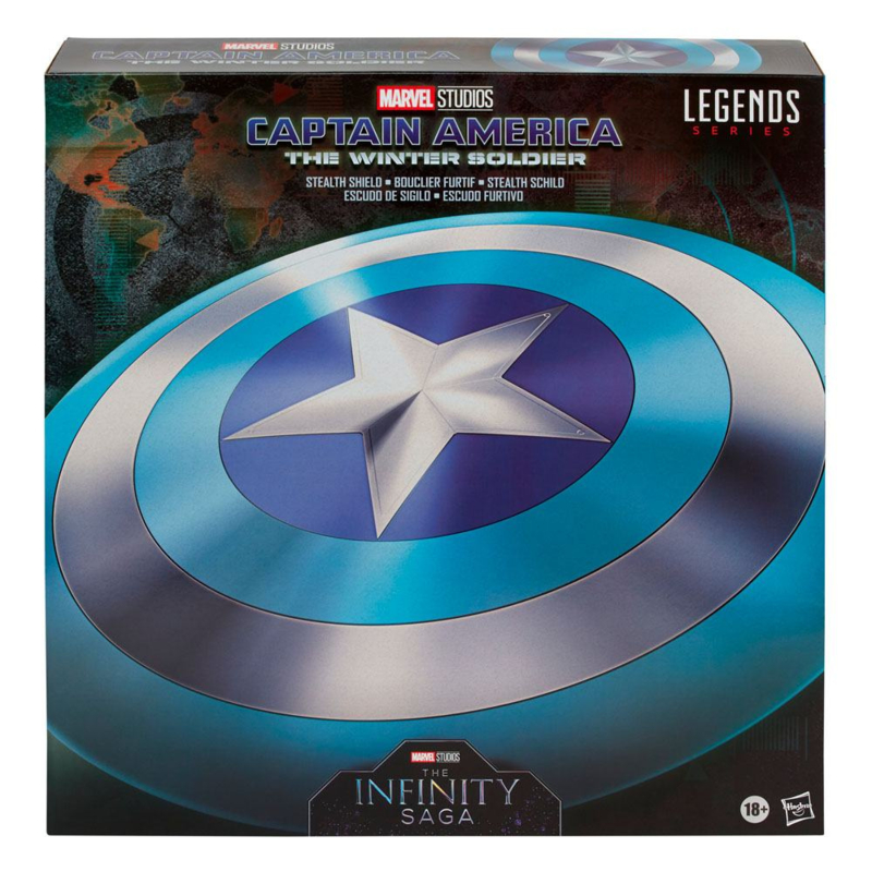 Marvel Legends Series The Infinity Saga Captain America: The Winter Soldier Stealth Shield - Pre order