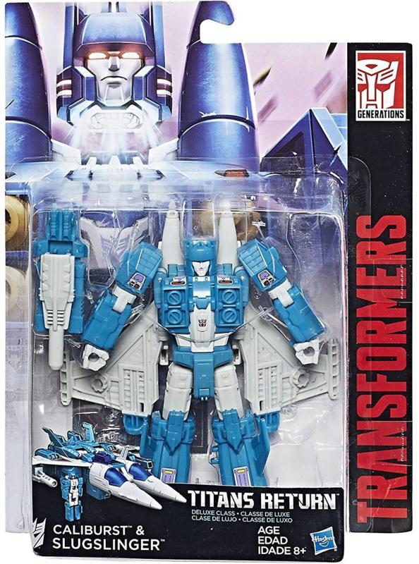 Hasbro Titans Return Deluxe Slugslinger