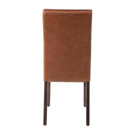 Bolero kunstleren eetkamerstoel - per 2 stuks