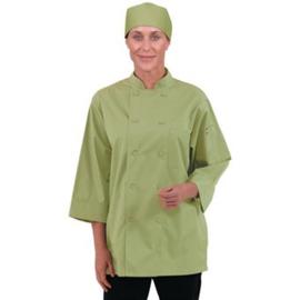 Chef Works Koksbuis - 6 maten - unisex - Limoen kleur