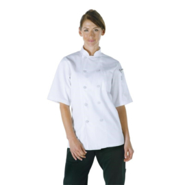 Chef Works Volnay Koksbuis - korte mouwen - 6 maten - unisex
