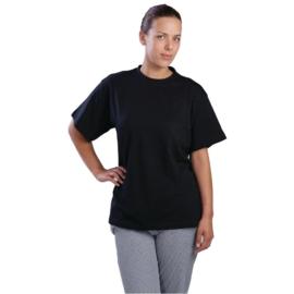 T-shirt Zwart - 100% Katoen - 3 maten beschikbaar - Unisex