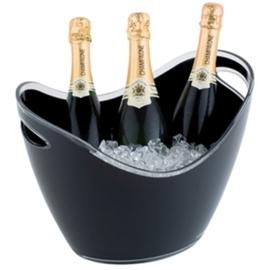 Zwarte Champagne koeler groot