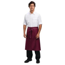 Sloof - Uniform Works - Kleur: Bordeaux