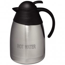RVS isoleerkan 'HEET WATER' 1,5 liter