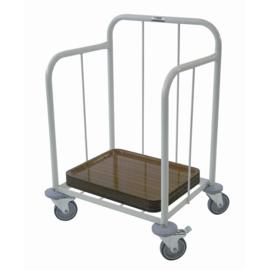 Stalen Wagen voor dienbladen - Capaciteit: 100 dienbladen - Merk: Craven