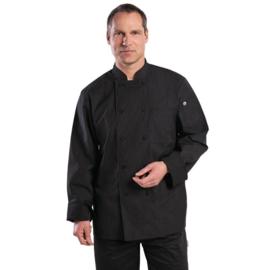 Chef Works Carlisle Koksbuis - unisex - 5 maten - krijtstreep