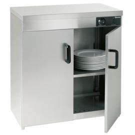 Borden warmhoudkast met 2 deuren 110-120 borden