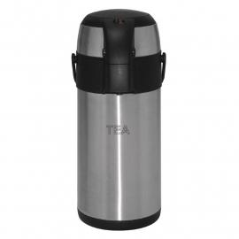 Olympia thermoskan / theekan met pomp 3 liter