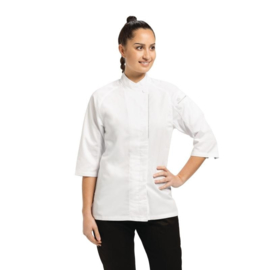 Chef Works Verona Cool Vent dames Koksbuis - 5 maten - Wit