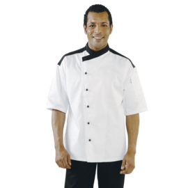 Chef Works Metz Koksbuis - korte mouwen - 4 maten - unisex